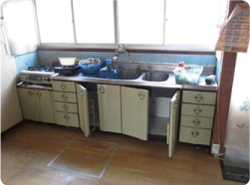 システムキッチン改修