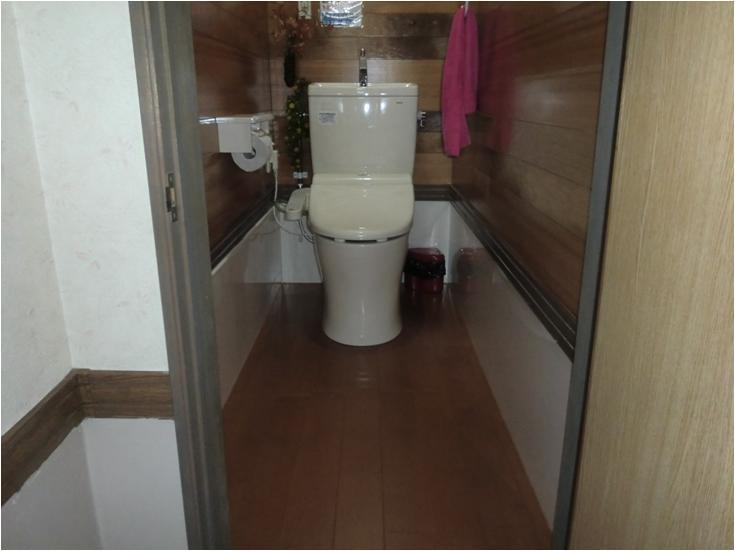 整骨院のトイレ洋式化