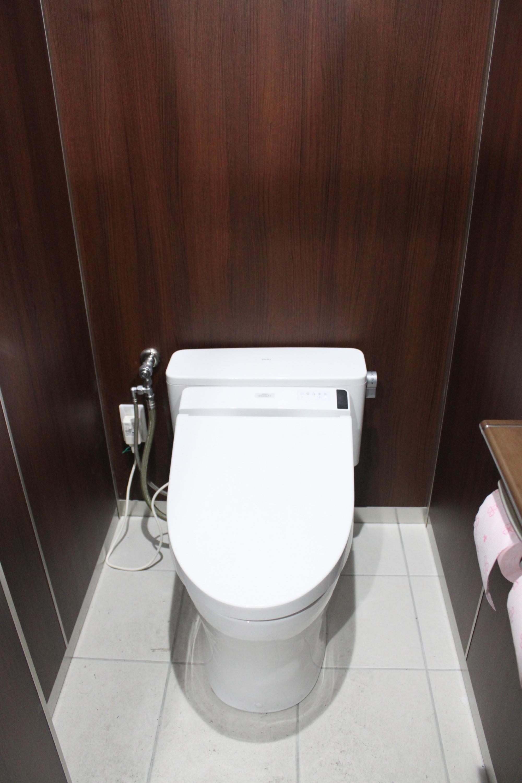 高級感のあるトイレに