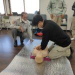 救急救命講習会を実施しました。